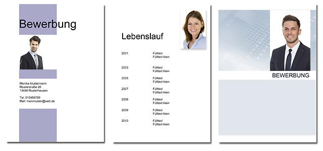Bewerbungsfotos für Lebenslauf