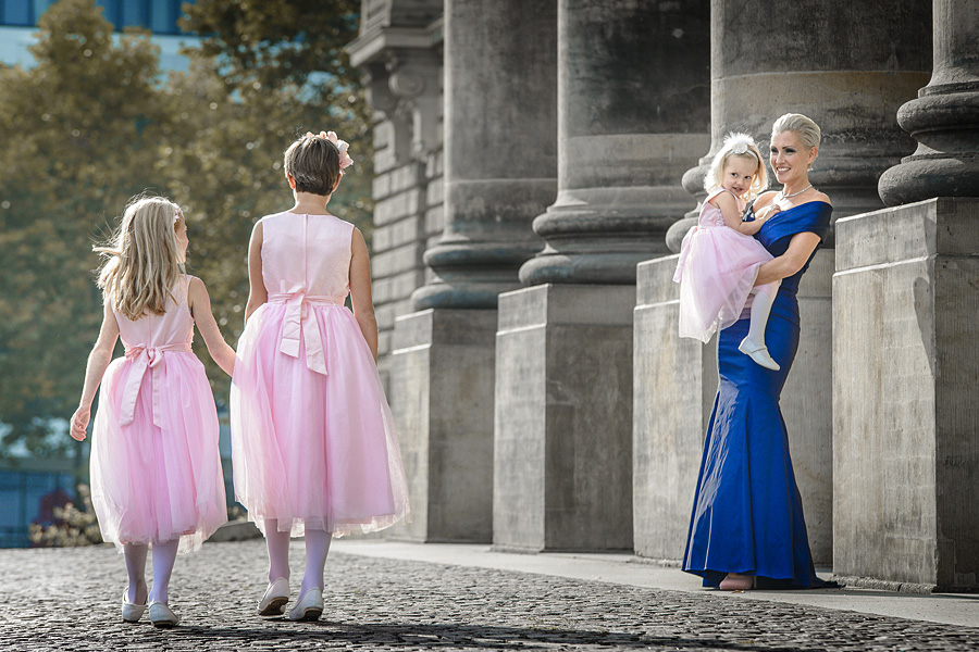 Fotoshooting mit Familie Outdoor